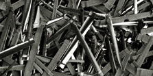 Gefräste Stahlfasern
